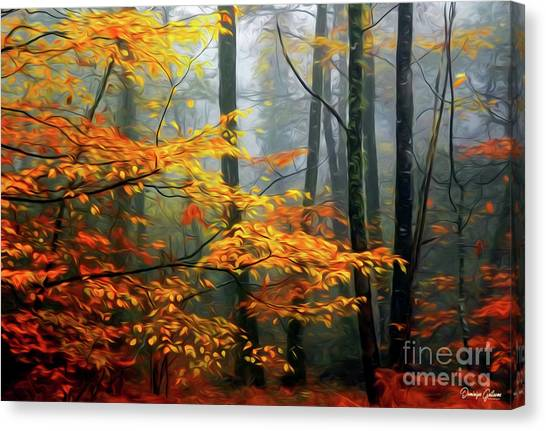 Season's Colors Canvas Print
