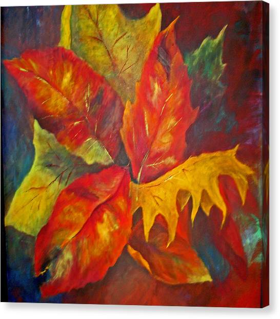 Seasons End Canvas Print by Carolyn Saine