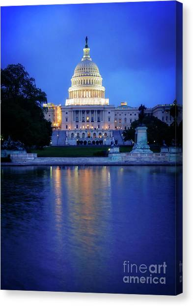 Seat Of Power Canvas Print