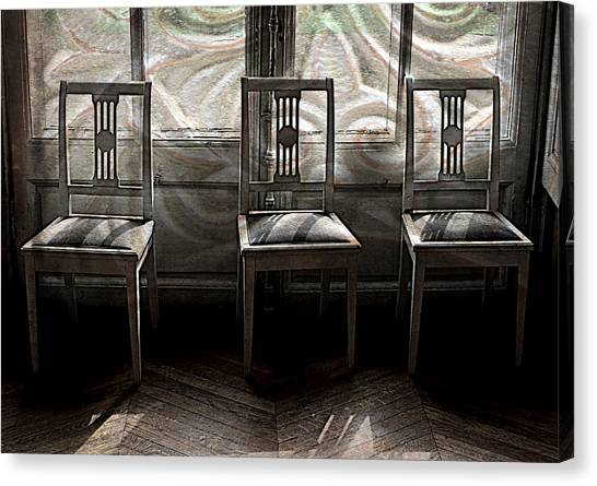 Seating Available Canvas Print