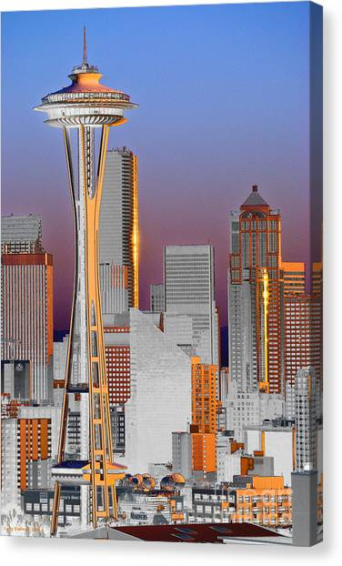 Seattle Architecture Canvas Print