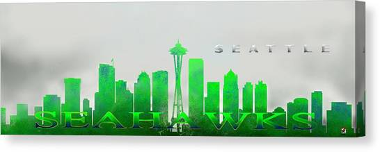 Seattle Greens Canvas Print
