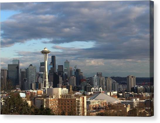 Seattle Skyline Canvas Print