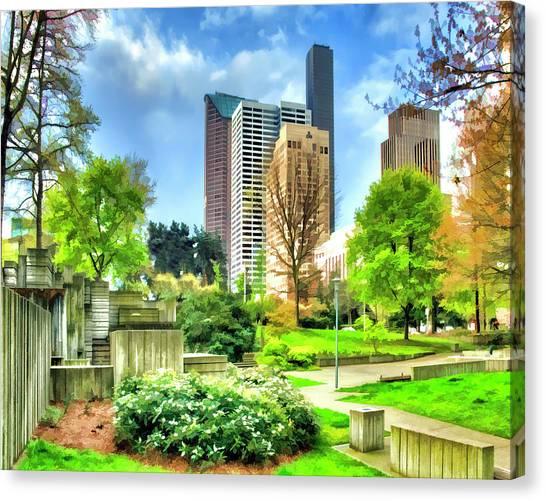 Seattle Spring Fine Art Print Canvas Print