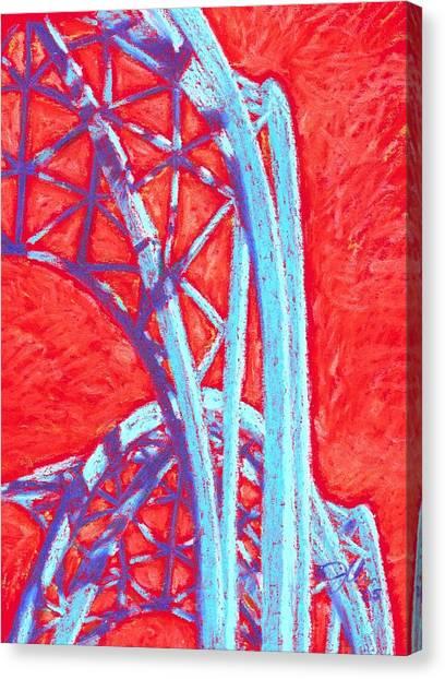 Seattle Structure Canvas Print by Jennifer Bonset