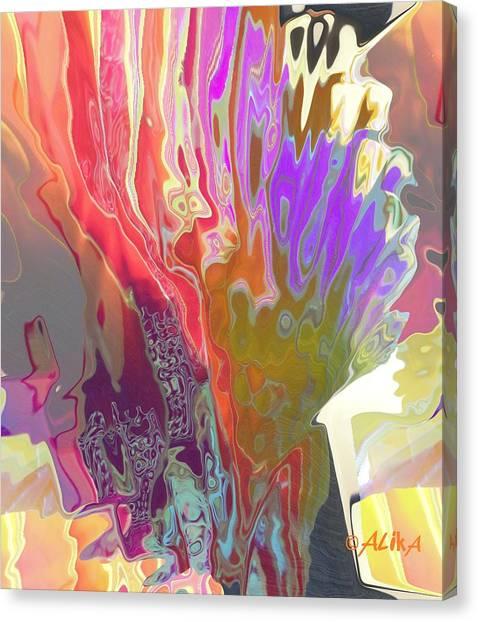 Seaweeds Canvas Print
