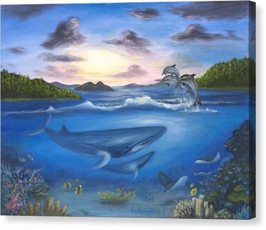 Canvas Print - Seaworld by Anne Kushnick
