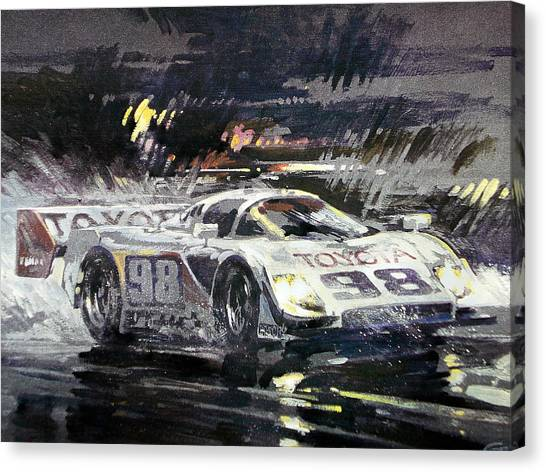 Sebring 12 Hour Canvas Print by Don Getz
