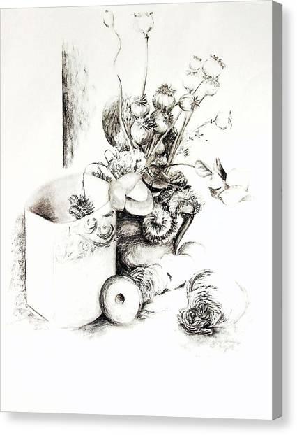 Sec Canvas Print by Muriel Dolemieux