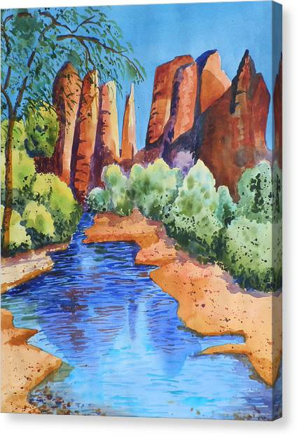 Secluded In Sedona Canvas Print
