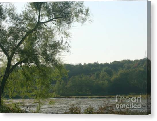 Secluded Marsh Canvas Print