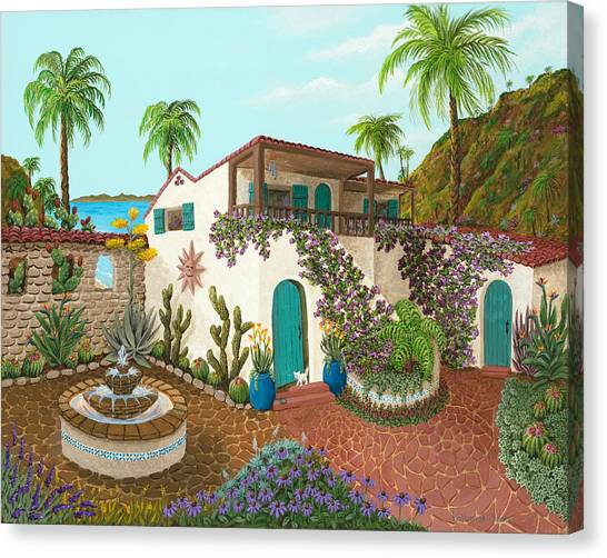 Secluded Paradise Canvas Print