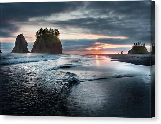 Second Beach #1 Canvas Print