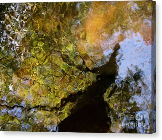 Tropical Stain Glass Canvas Print - Second Earth by Joanne Baldaia - Printscapes