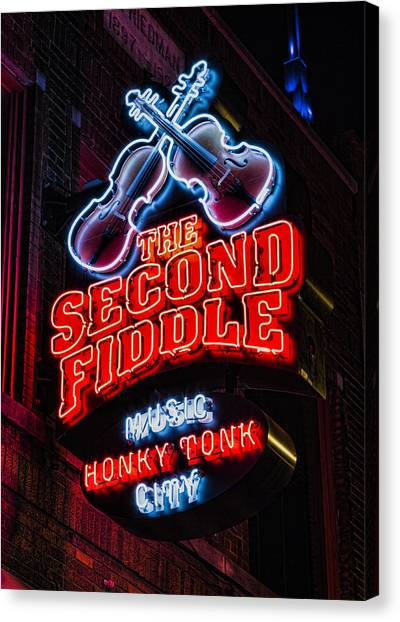 Sec Canvas Print - Second Fiddle by Stephen Stookey