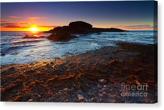 Second Valley Sunset Canvas Print