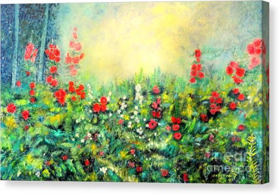Secret Garden 2 - 150x90 Cm Canvas Print