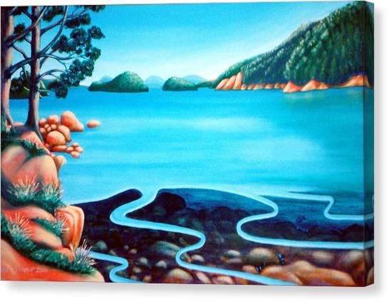 Secret Snapper Spot 3 Canvas Print by Barbara Stirrup