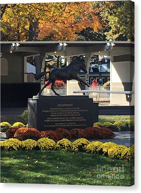 Secretariat 1 Canvas Print