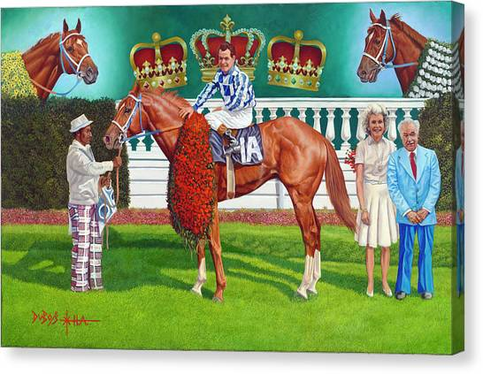 Secretariat Canvas Print