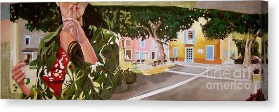 Secrets Du Village Canvas Print