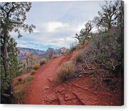 Sedona Airport Vortex Canvas Print