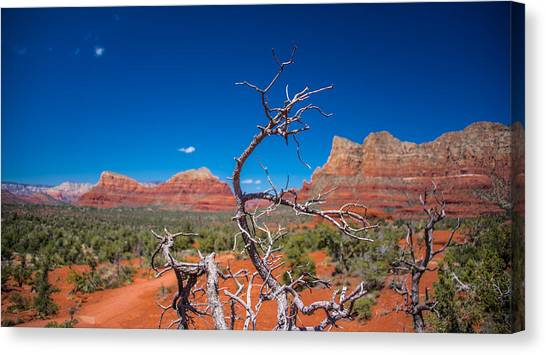 Sedona Blue Canvas Print