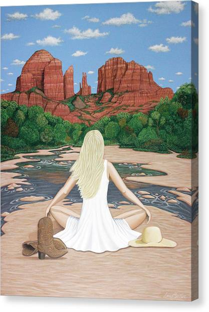 Sedona Breeze  Canvas Print