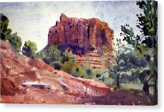 Sedona Butte Canvas Print