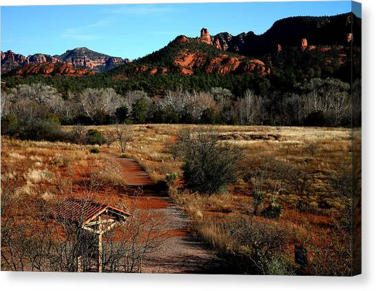 Sedona Canvas Print by Jennilyn Benedicto