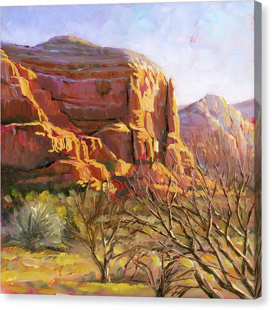 Sedona Morning Canvas Print