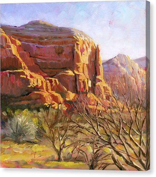 Sedona Morning Canvas Print