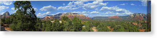 Sedona Panoramic Canvas Print