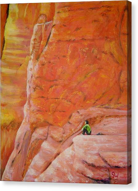 Sedona Rocks Canvas Print