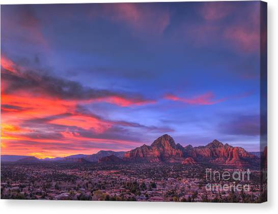 Sedona Sunset Canvas Print