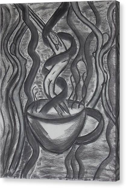 Seduction Canvas Print by Marsha Ferguson