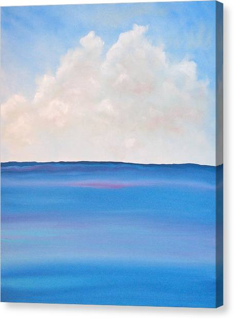 Cloud Canvas Print - See by Kimby Faires