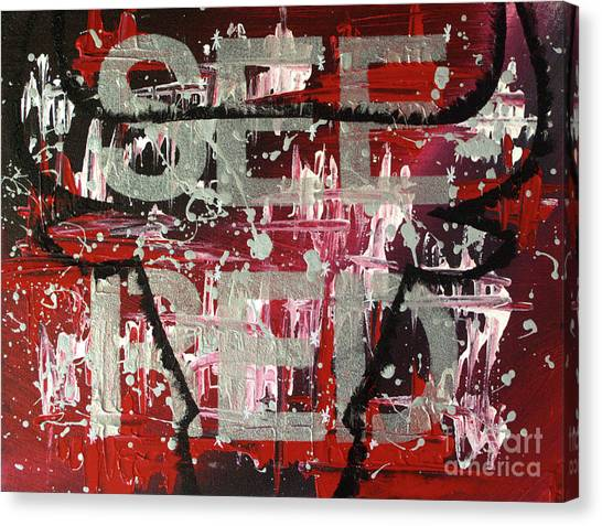 See Red Chicago Bulls Canvas Print