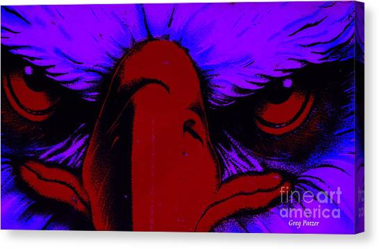 See Red Canvas Print by Greg Patzer