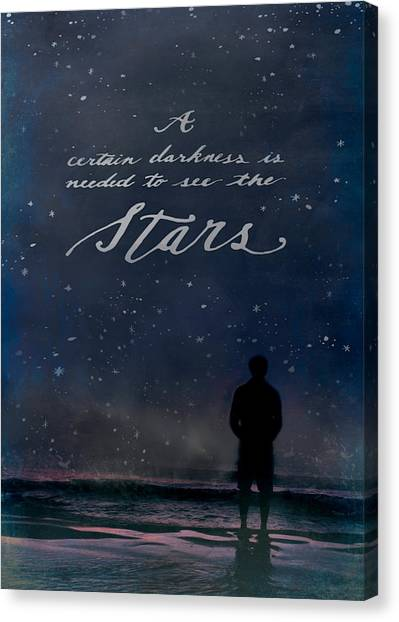 See The Stars Canvas Print