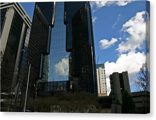 See-through Building Canvas Print by Beebe  Barksdale-Bruner