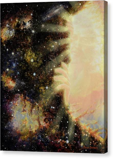 Portal Canvas Print - Seeing Beyond 2 by Graham Braddock