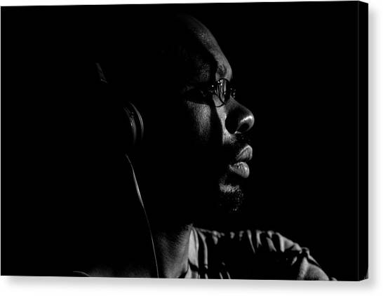 Canvas Print featuring the photograph Seek It by Eric Christopher Jackson