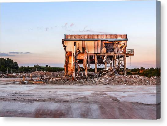 Canvas Print featuring the photograph Seen Better Days by Nick Bywater