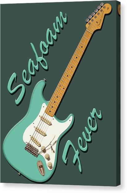 Seafoam Fever Canvas Print