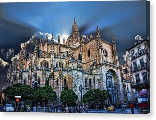 Segovia Cathedral  Canvas Print