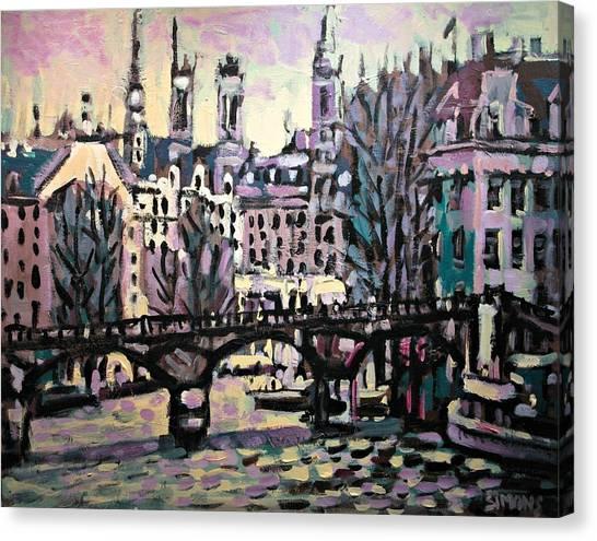 Seine Canvas Print by Brian Simons