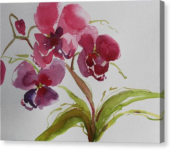 Selby Orchid II Canvas Print
