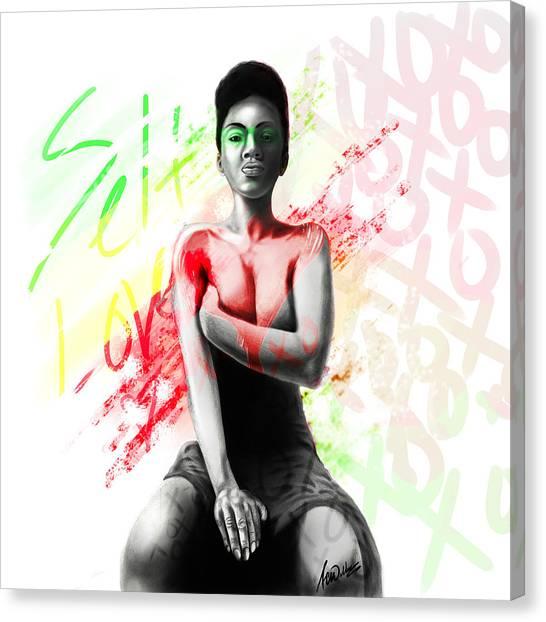 Self Love Xoxo Canvas Print