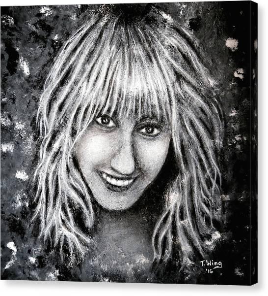 Self Portrait #1 Canvas Print